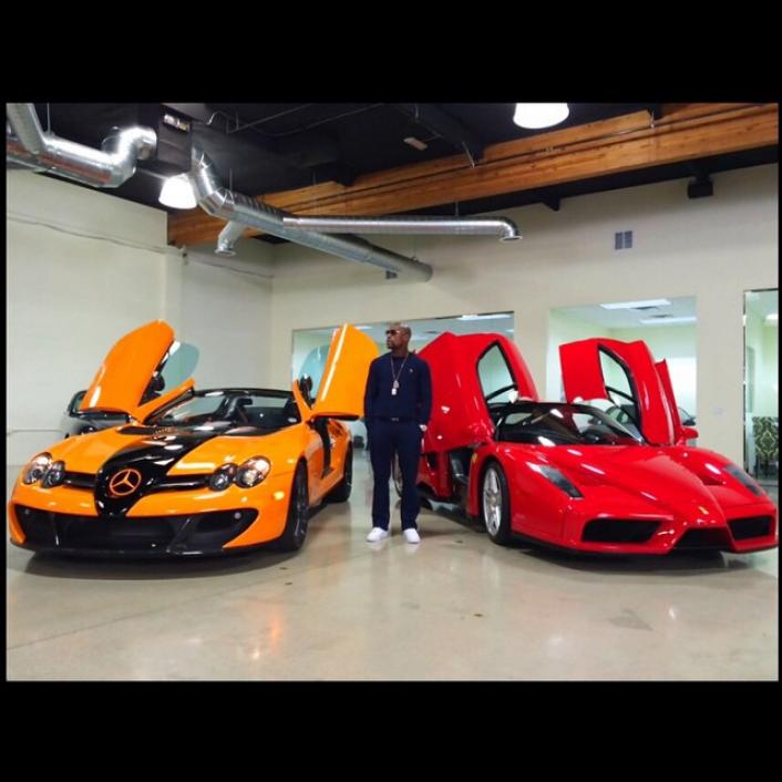 Floyd Mayweather Shows Off 7 4 Million Luxury Car Collection More